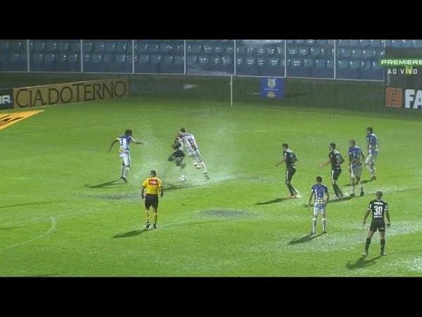Lance Polêmico na partida Avaí x Palmeiras - Pênalti em Deyverson (Marcado pelo VAR)