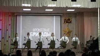 «Весёлые ложкари» - средняя группа (Интернет-акция «Имя твоё - Победа, салютует тебе Кострома!»)
