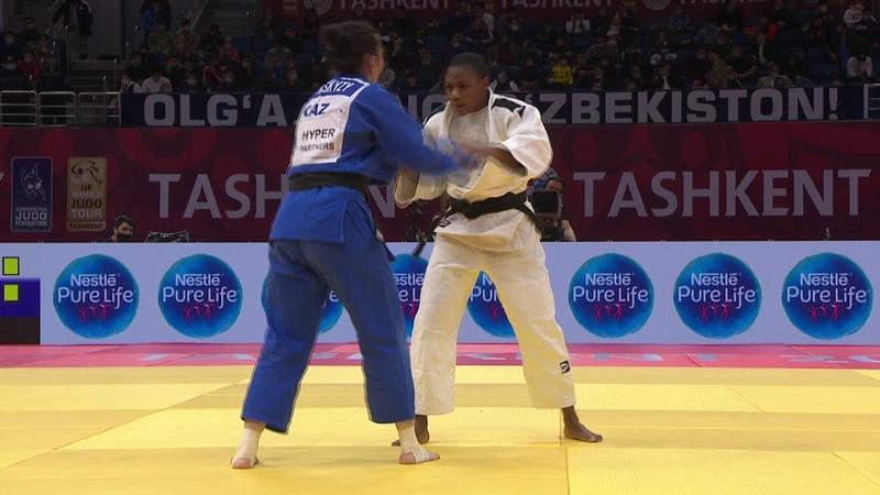 70 кг Ayuk Otay Areey Sophina (CMR) vs. Зере Бектасқызы (KAZ)