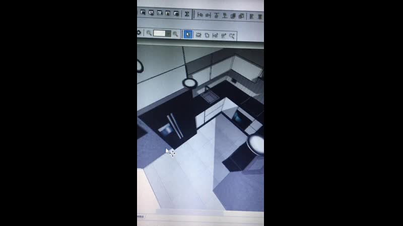 Дизайн проект Кухня
