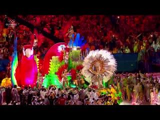 Церемония закрытия Рио-2016