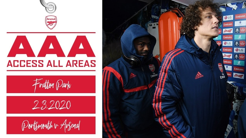 Access All Areas Portsmouth 0 2 Arsenal Emirates FA Cup