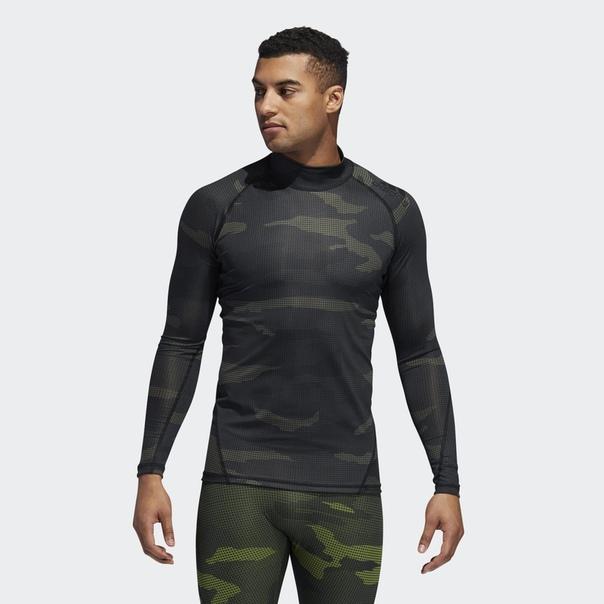 Лонгслив для фитнеса Alphaskin Camouflage
