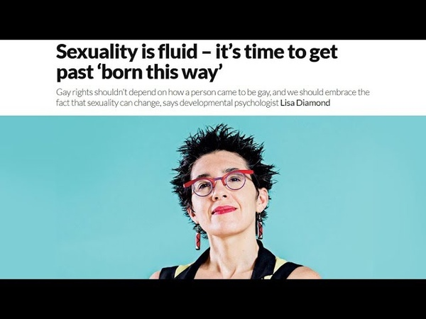Sexuality is fluid – it's time to get past 'born this way'
