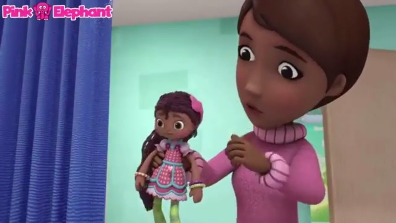Kids' English | Doc McStuffins Hannah The Brave Top Cartoon For Kids Children - Pink Elephant