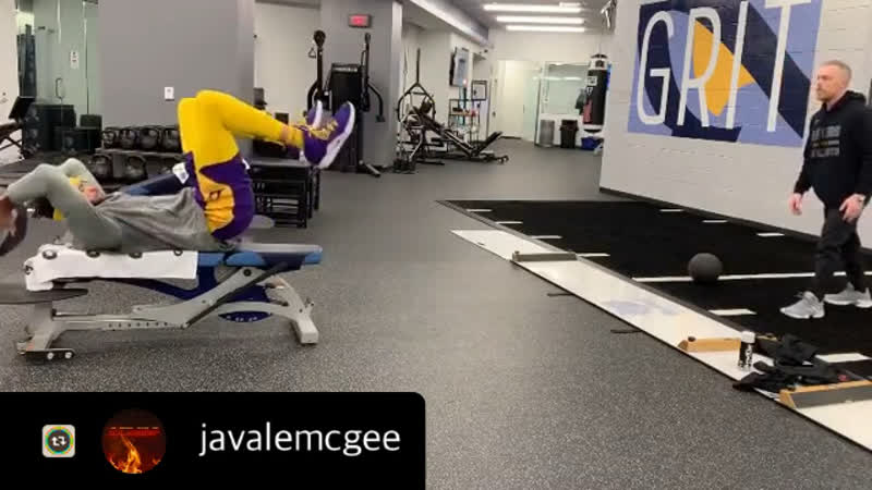 Javale Mcgee for los Lakers