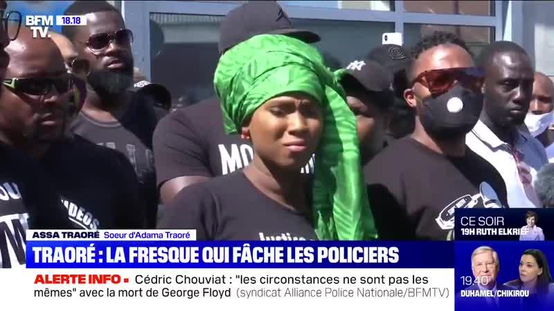 C'est donc le gang Traoré qui gouverne désormais la France et qui a autorité sur les pouvoirs de l'état