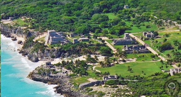 Тулум город рассвета Из испанских и индейских хроник известно, что в каждом юкатанском государстве-«провинции» имелся один или несколько крупных городов. Однако, после конкисты (завоевания)