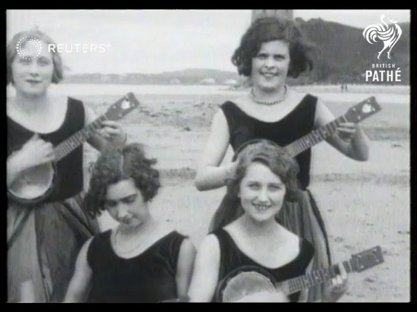 LEISURE Jackson Girls at Ayr (1928)