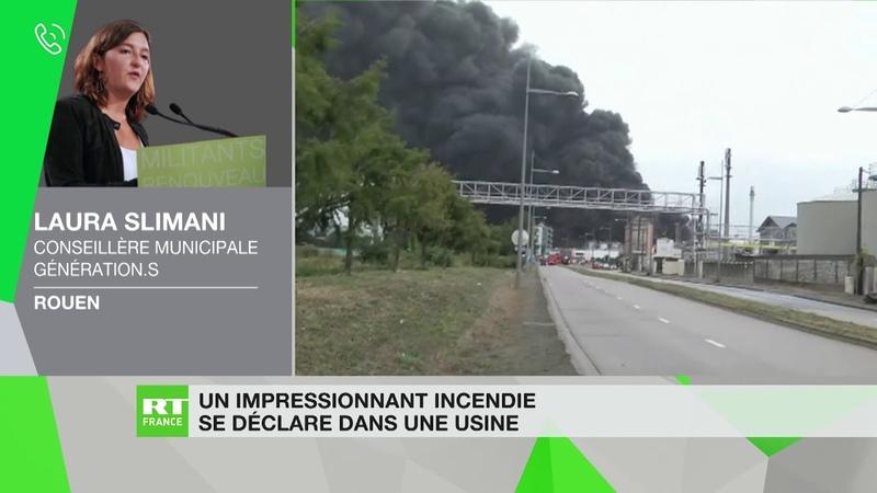 Incendie d'une usine classée Seveso à Rouen : «Une situation extrêmement délicate»