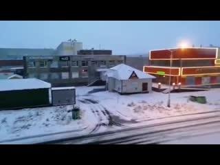 В Норильске первый снег выпал 11 сентября