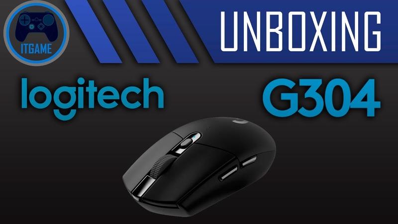 Unboxing 8. Беспроводная игровая мышь Logitech G304