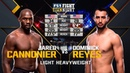 UFC 247 Free Fight: Dominick Reyes vs Jared Cannonier