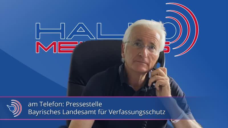 Peter Weber Kritisch nachgefragt Peter ruft beim bayerischen Amt für Verfassungsschutz an