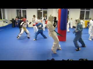 Тренировка по Кудо. Отработка ударной техники. Клуб кудо скала