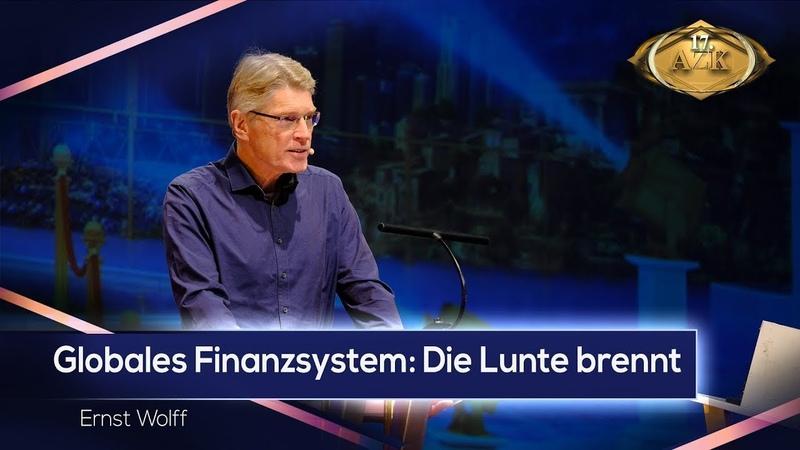 Weckruf an den deutschen Mittelstand Globales Finanzsystem Die Lunte brennt Ernst Wolff