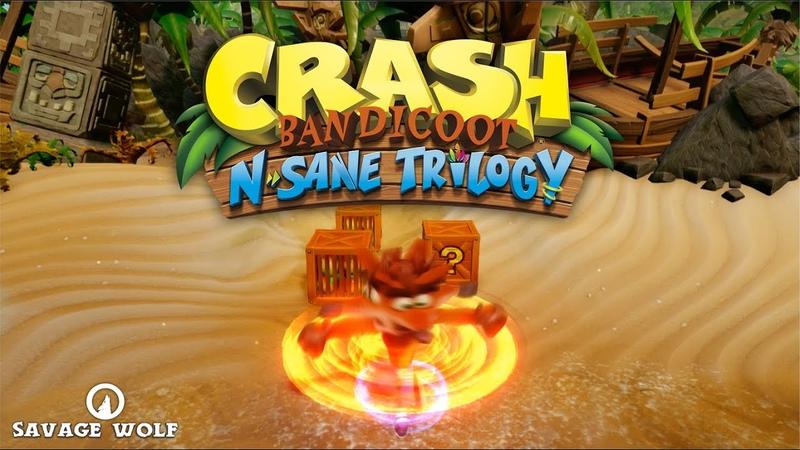 🐺 Crash Bandicoot N. Sane Trilogy 🥭 1 | НАЧАЛИ С ПРОВАЛА ЭКСПЕРИМЕНТА 🎮
