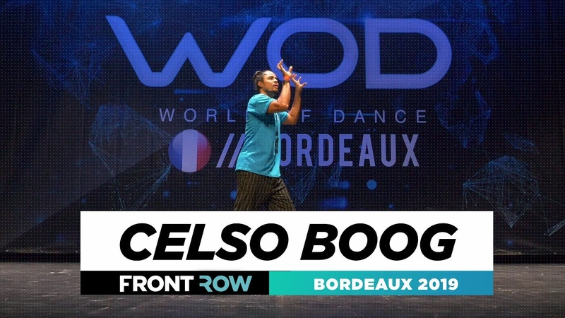 Celso Boog FRONTROW World of Dance Bordeaux 2019 WODBDX19