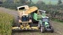 New Holland FX58 bunkerhakselaar Loonw Spruytte mais hakselen
