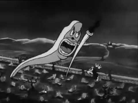 Swing You Sinners! 1930 animated cartoon short Fleischer Brothers surreal, dark abstract content
