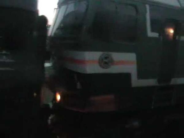РЖД Прибытие на станцию Лихая Arriving at Lihaya station