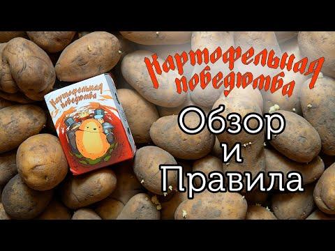 Обзор и правила настольной игры Картофельная Победюмба