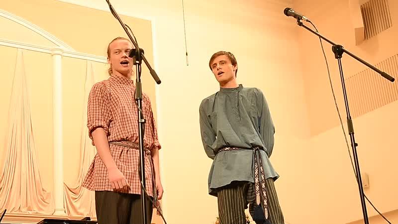Чеченская песня станицы Червленная