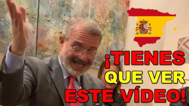La vibrante lección de Historia de España que nos da el Embajador de Panamá ¡¡LOS PELOS DE PUNTA!!