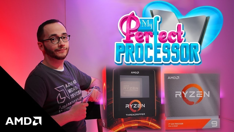 Which One's For You 3rd Gen AMD Ryzen™ Threadripper™ and AMD Ryzen™ 9 3950X on The Bring Up