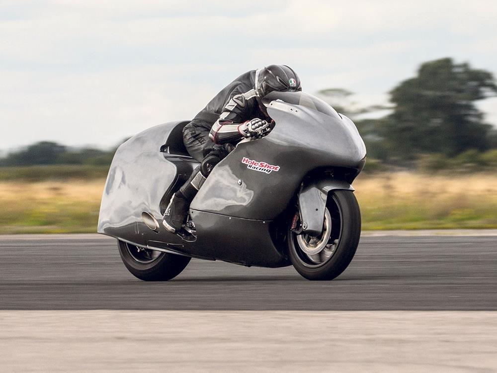 Гай Мартин установил новый британский рекорд скорости