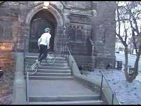 Neil Tunnicliffe stunts tricks biketrials jumps