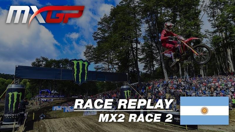 MXGP of Patagonia Argentina 2019 Replay MX2 Race 2 Motocross