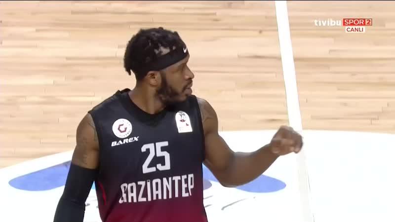 Afyon Belediye - Gaziantep Basketbol 12.01.2020 @BasketbolArsivi