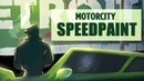 Welcome to Detroit | Motorcity Speedpaint