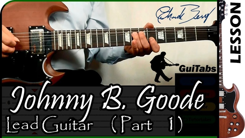 How to play Johnny B. Goode (Intro, Riff) - Chuck Berry 🎸 / GuiTabs Guitar Tutorial 🎸