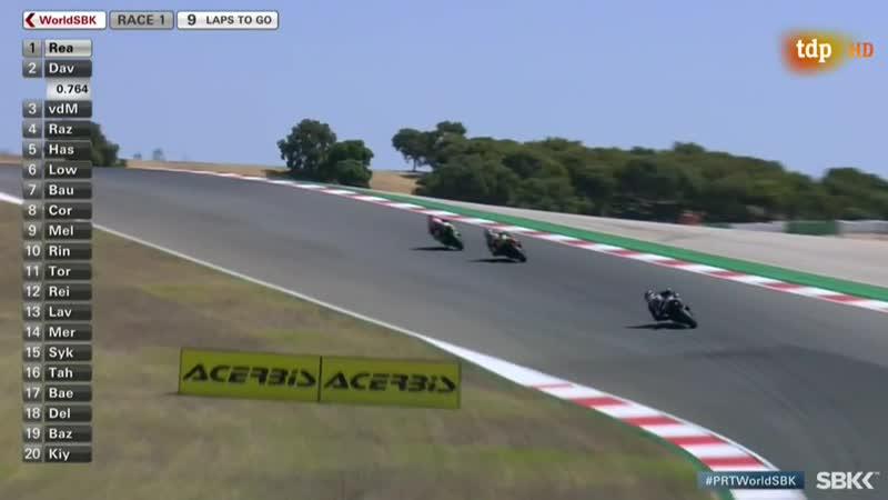 - Campeonato del Mundo de Superbikes Prueba Algarve WSBK 1 carrera -