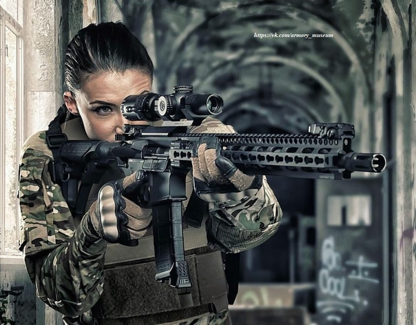 Девушки С Оружием Обои HD