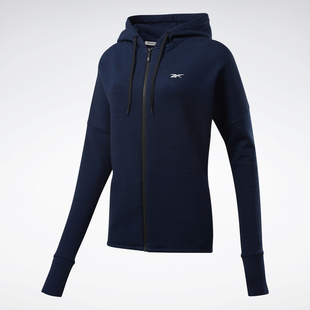 Худи United by Fitness Doubleknit Full-Zip image 7