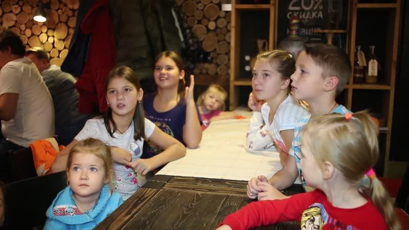 Детский мастер-класс в