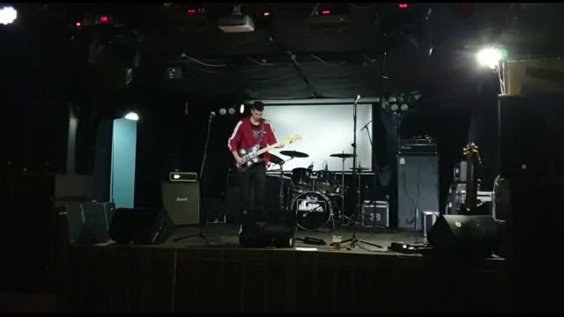 Hardballs - Антон Самсонов, гитарное соло (саундчек, Москва)