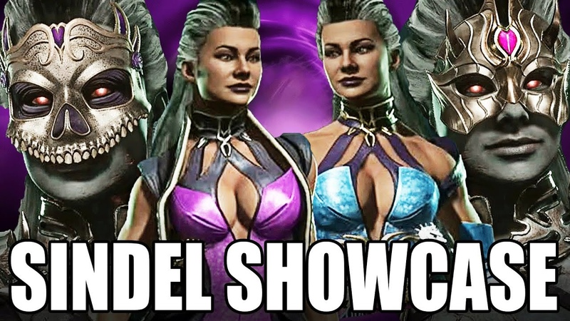 Mortal Kombat 11 - Sindel Ending is CRAZY Fatalities Gear Showcase!