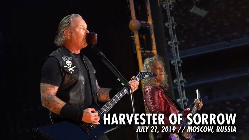 Metallica: Harvester of Sorrow (Moscow, Russia - July 21, 2019)