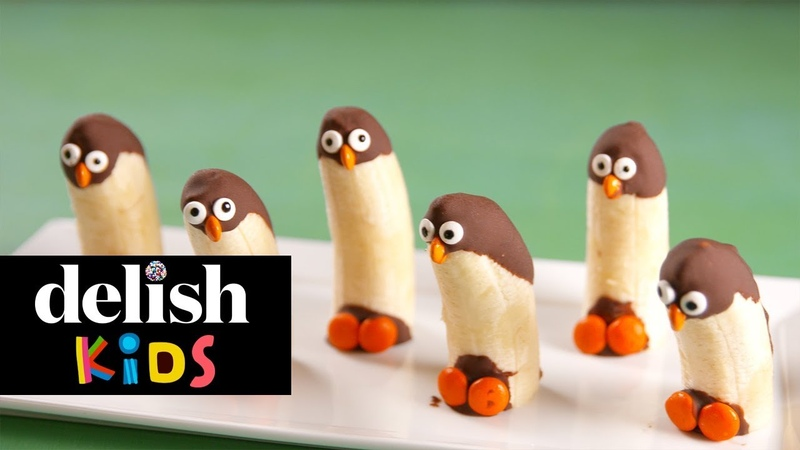 Banana Penguins | Delish Kids