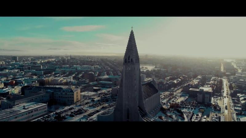 Reykjavik, Iceland in 4K!! The capitol through the Mavik Air!