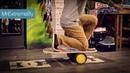 Трюки и упражнения на балансборде