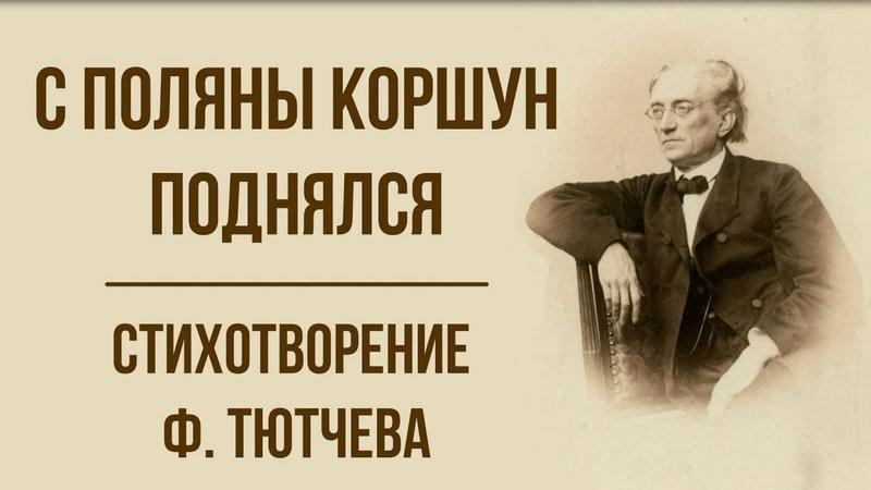 «С поляны коршун поднялся» Ф. Тютчев. Анализ стихотворения