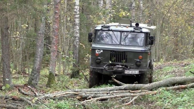 Подборка моментов всё самое лучшие о легенде автопрома СССР газ 66(The best moments off road GAZ 66)