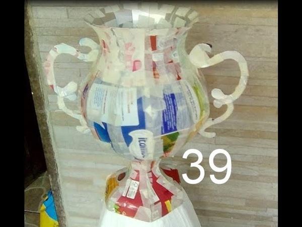 Vaso de caixas de leite -Vaso 39
