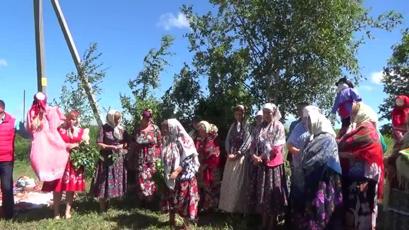 Праздник Троицы в с Яшевка Буинского района