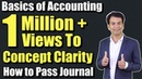 Accounting basics Journal entries Accounting Class 11 By CA Pardeep Jha